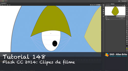 Tutorial 148 – Flash CC 2014: Usando clipes de filme