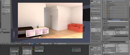 Curso de visualização interativa para arquitetura com Blender