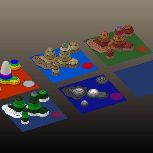 Curvas de nível 3d no Blender com material gratuito