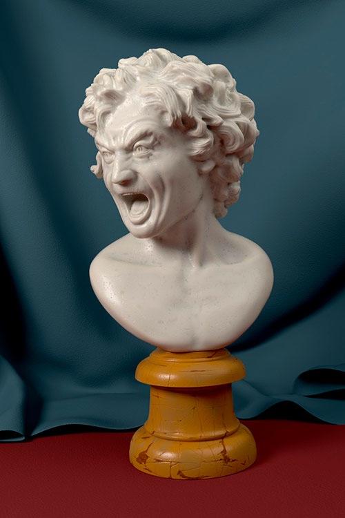 Damned Soul: Escultura digital e render no Blender Cycles