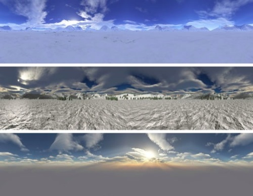 Skyboxes no Unity