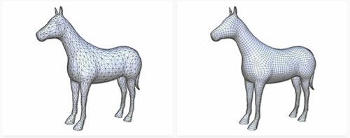 Art Mesh: Conversão de topologia gratuita