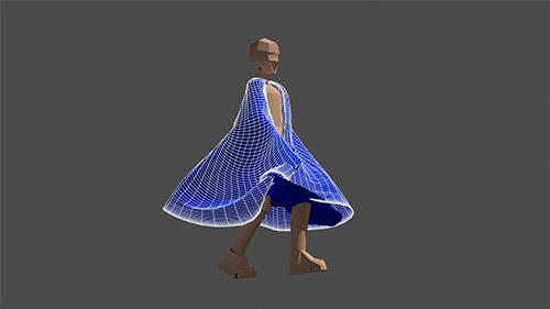 Curso de animação com tecidos usando o Blender