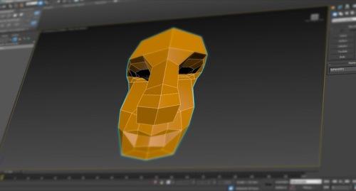 modelagem poligonal com 3ds max
