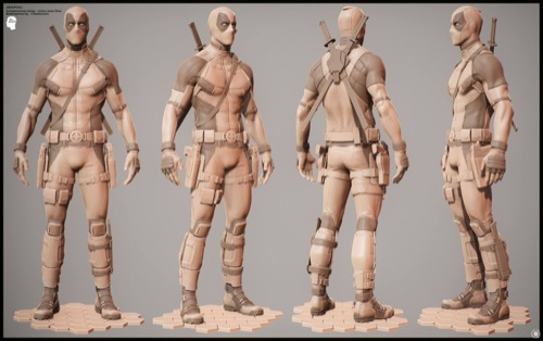 Deadpool: Modelagem 3d e MOCAP do filme