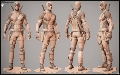 Deadpool: Modelagem 3d e MOCAP do filme