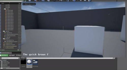 blueprints na Unreal Engine