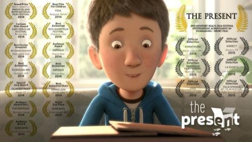 The present: Curta-metragem de animação produzido com Maya