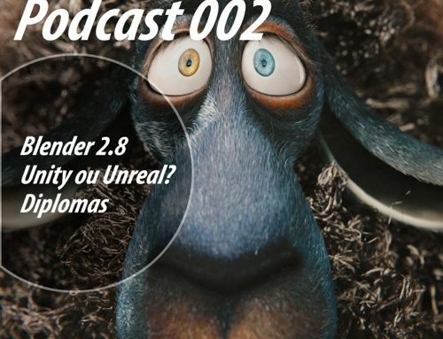 Allan Brito Podcast 002: Blender 2.8, Licenças de games engines e diplomas