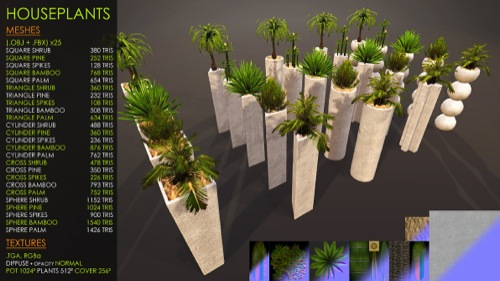 Vegetação para Unreal Engine em arquitetura