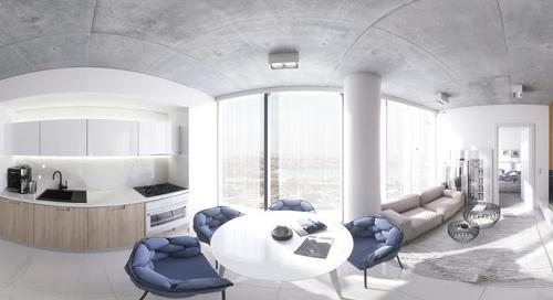 Panoramas em 360 graus para arquitetura
