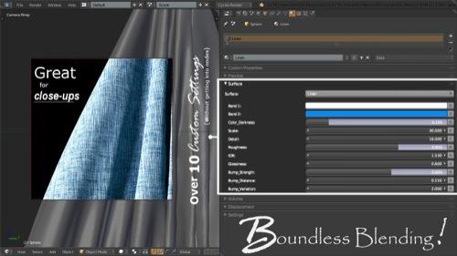 materiais gratuitos para o Blender Cycles