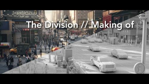 Produzindo animações para The Division