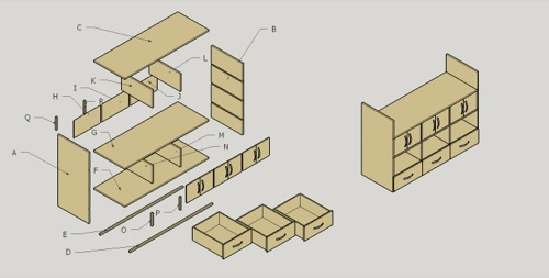 Curso sobre SketchUp para design de móveis e marcenaria