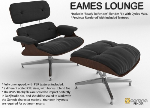 Cadeira Eames: Download gratuito