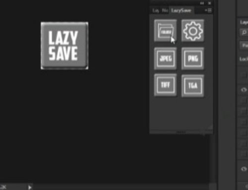 Plugin gratuito para o Photoshop: Lazy Save