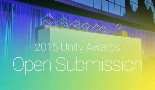 Inscrições abertas para o Unity Awards 2016
