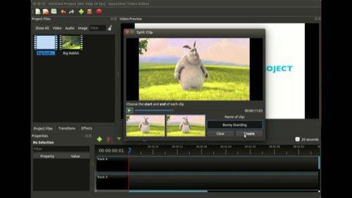 OpenShot: Software de edição de vídeo gratuito