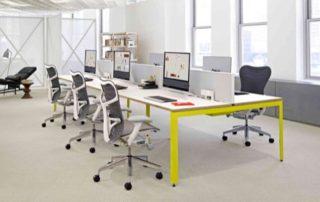 Famílias gratuitas de móveis para escritório no Revit