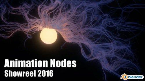 Blender Animation Nodes Showreel 2016