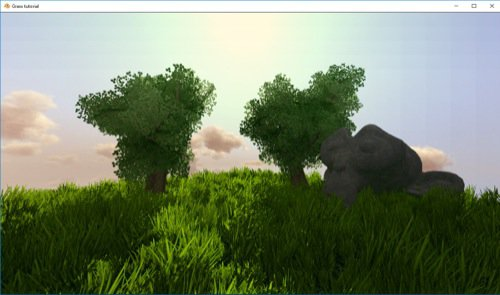 Configurar grama para jogos no Blender
