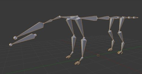 Rigging de personagens no Blender: Quadrúpedes no Rigify