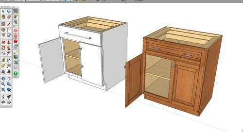 sketchup componentes