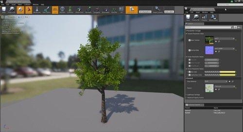 Coleção com 18 árvores gratuitas para Unreal Engine