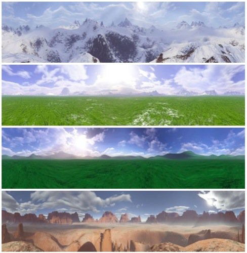 Download gratuito de 18 Skyboxes