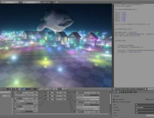 Luzes dinâmicas com o projeto UPBGE no Blender