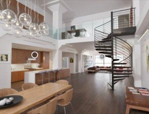 Exemplo de VR para arquitetura na web