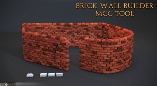 Script gratuito para 3ds max cria paredes de tijolos