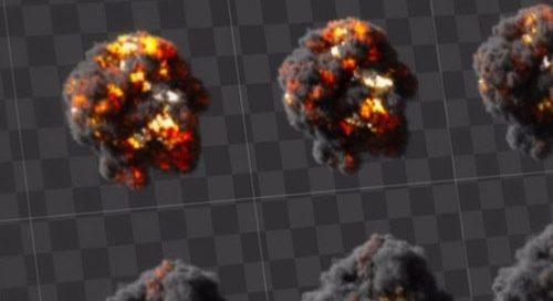 download gratuito de 18 efeitos visuais para animação e jogos