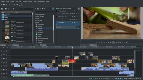 Kdenlive: Editor de vídeo para substituir o Premiere