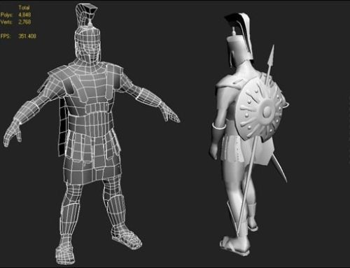 Achilles Spartan: Personagem 3d gratuito para download