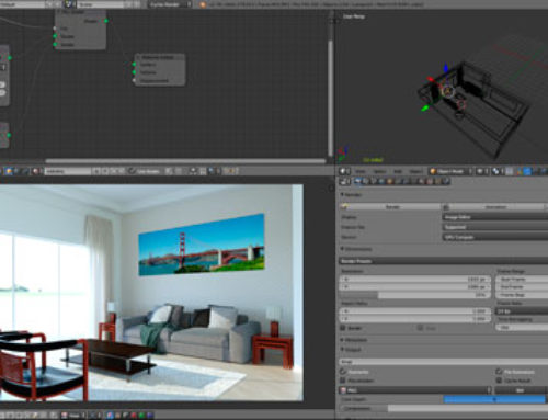 Como renderizar cenas do SketchUp no Blender Cycles?