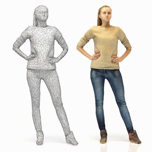 17 pessoas 3D otimizadas para arquitetura
