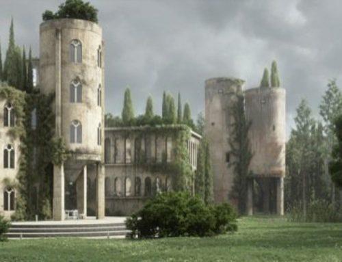 Render e modelagem de um castelo com Blender