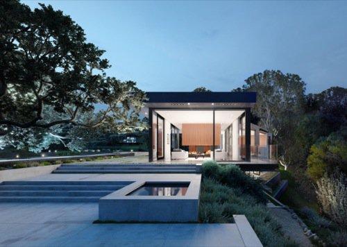Oak Pass House: Blender Cycles para arquitetura