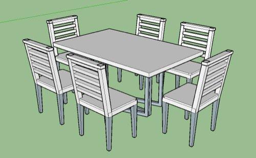 Importando móveis e objetos do SketchUp para o Blender