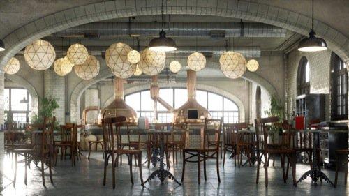 Blender para arquitetura: Cervejaria na Bélgica