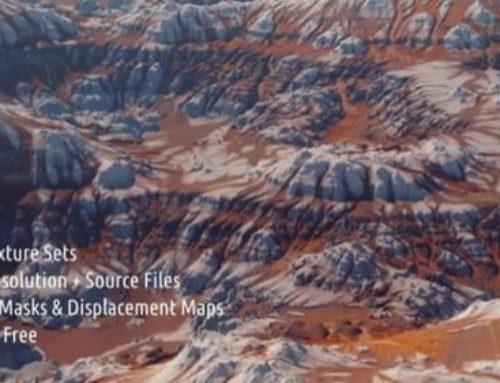 5GB em texturas gratuitas para paisagens
