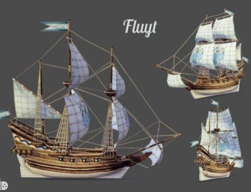 Modelos 3d para jogos com temática pirata