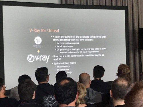 V-Ray para a Unreal Engine
