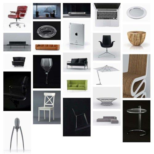 30 móveis e objetos gratuitos para download