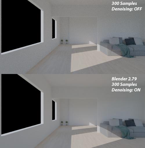Blender 2.79: Usando o denoiser