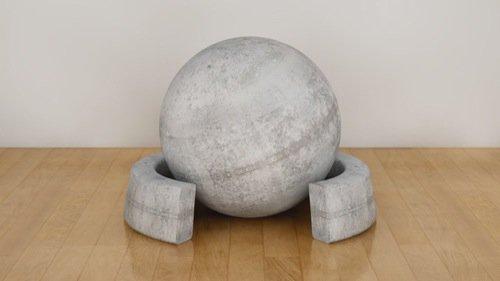 30 texturas gratuitas de concreto para o Cinema 4D