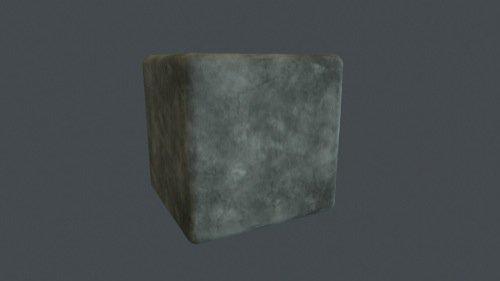 Textura gratuita de concreto em 4K para arquitetura e jogos