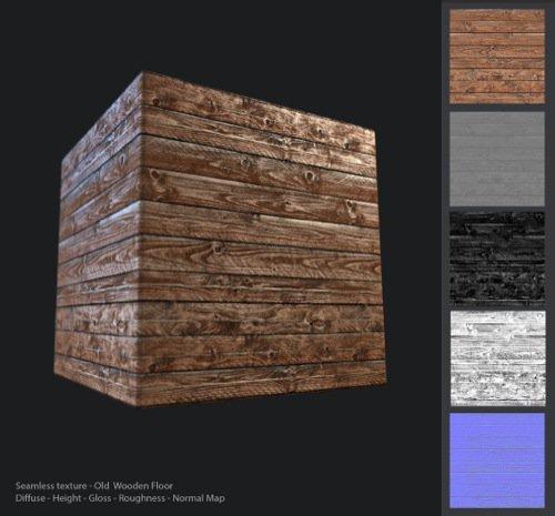 Download gratuito de textura para pisos de madeira