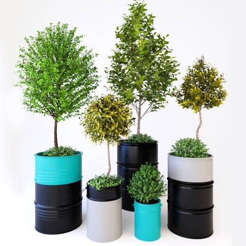 Vegetação 3D gratuita para projetos de interiores